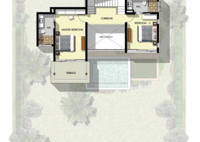 Saitara Peak Villa Bayu (2 Bedrooms) First Floor