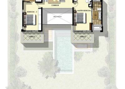 Saitara Peak Villa Danube (3 Bedrooms) First Floor