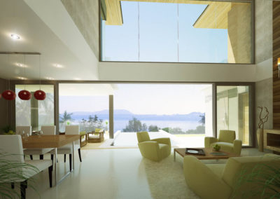 Saitara Peak Villa Danube (3 Bedrooms) Living room