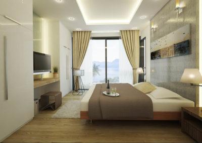 Saitara Peak Villa Zarya (4 Bedrooms) Bedroom