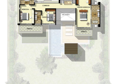 Saitara Peak Villa Zarya (4 Bedrooms) First Floor